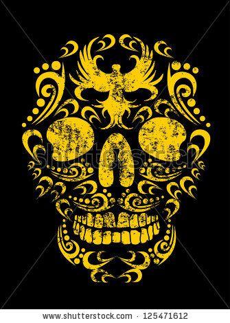 Tattoo Skull Vector Art - 125471612 : Shutterstock
