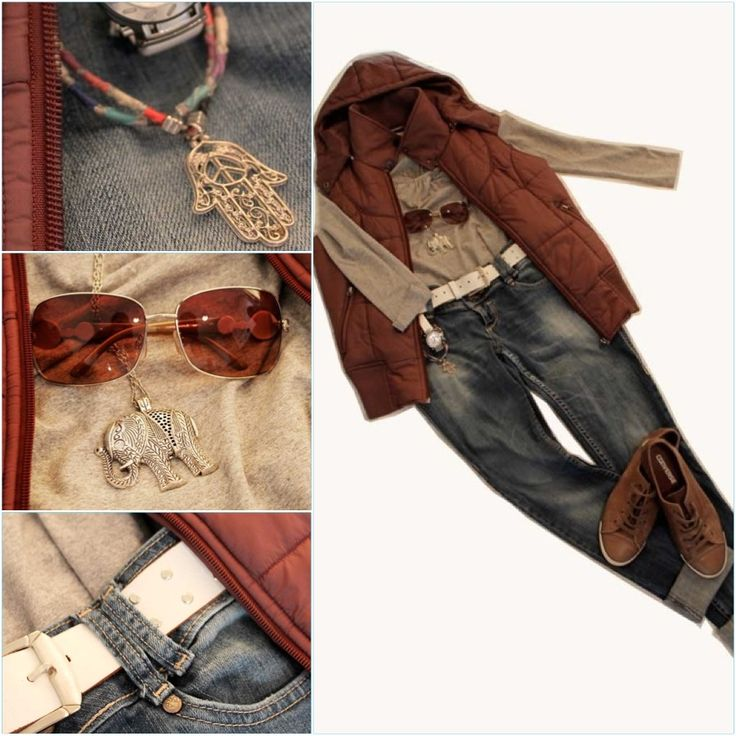 guardarropa, chaleco, gafas, sunglasses, vest, jeans, fashion clothes