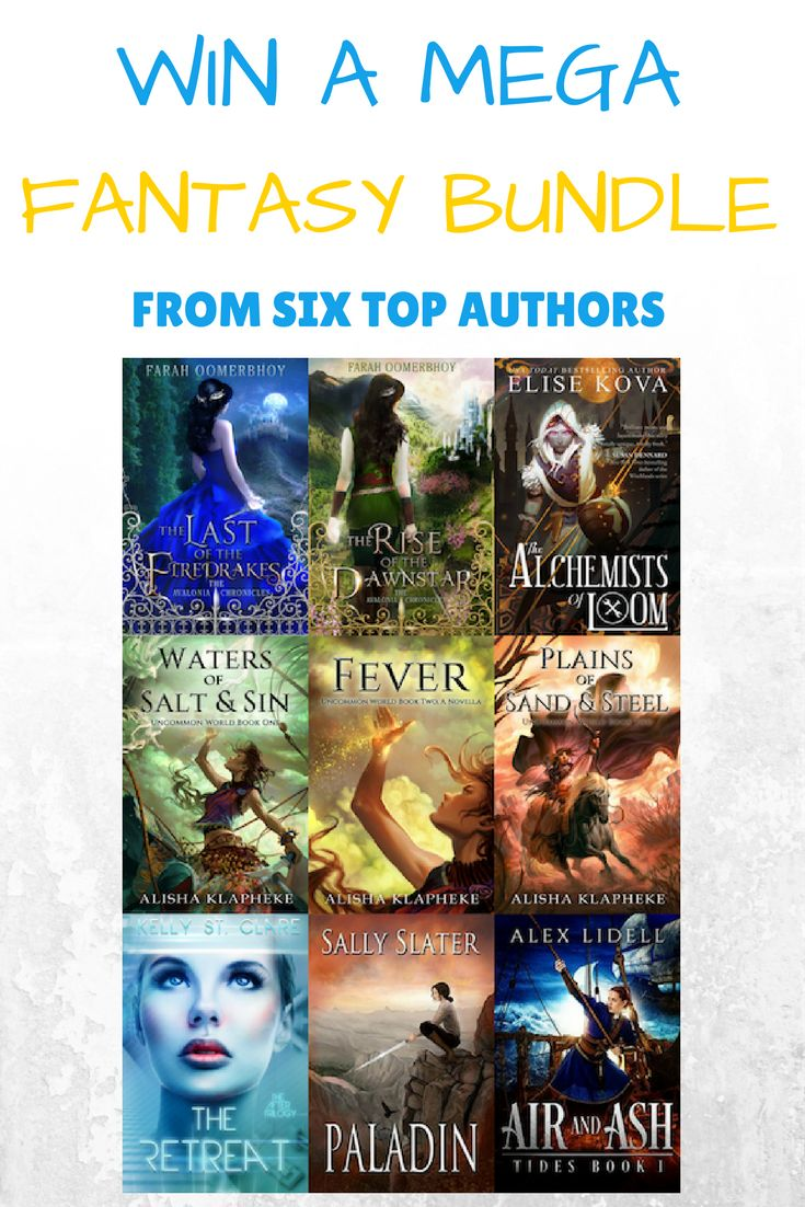 I'm thrilled to be joining Alex Lidell, Alisha Klapheke, Elise Kova, Kelly St Clare, and Sally Slater, for this mega fantasy book giveaway!