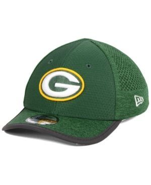 New Era Boys' Green Bay Packers Training 39THIRTY Cap - Green Toddler