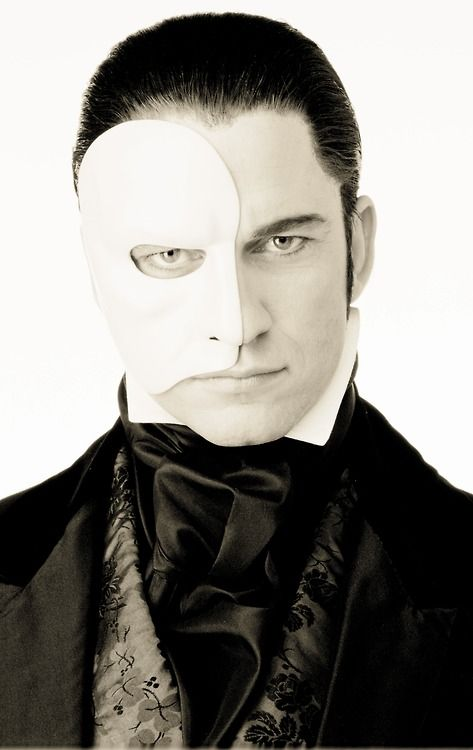 phantom of the opera - if this guy appeared in my mirror, hell yes I'd follow him into his underground lair, lol. Christine = dummysauce