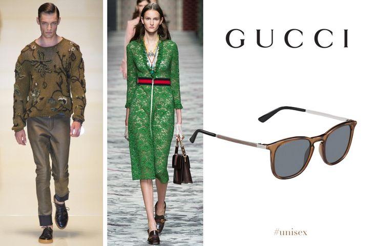 Gucci GG1130/S #unisex in 9 varianti di colore. Linee pulite e colori caldi, acquistali su Ottica Viegi  #occhialidasole #qualità #lenti #tecnico #sunglasses #gucci