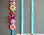 How to Make a Hair Bow Holder ribbon retreat blog