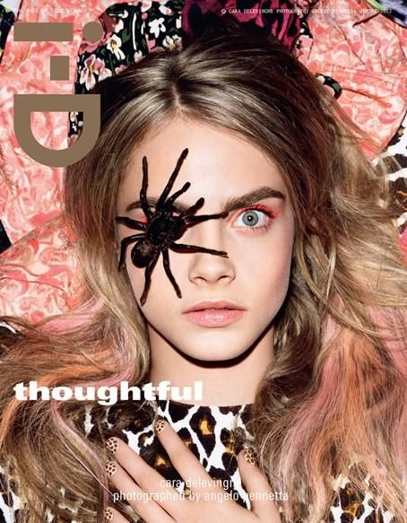 i-D Magazine - I-D Winter 2012 Covers/In this picture:  Cara Delevingne