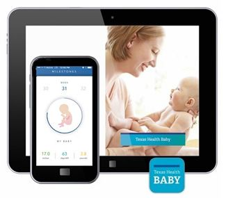 Texas Health Resources - Healthy Baby App #macobgyn #favoriteapps