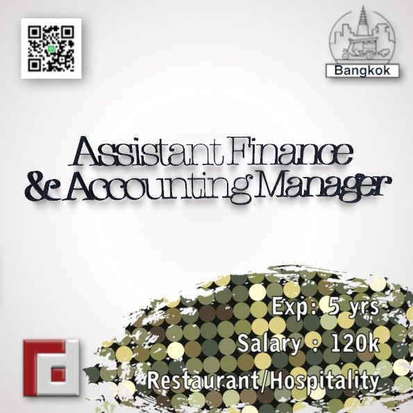 finance jobs in thailand