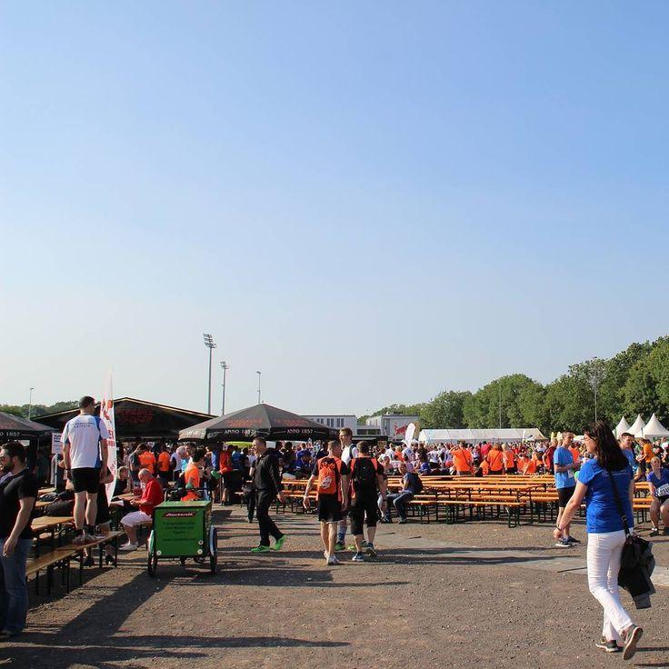 Unterwegs zum #firmenlauf #kleinmesse #leipzig #sport #veranstaltung #saxony #fit