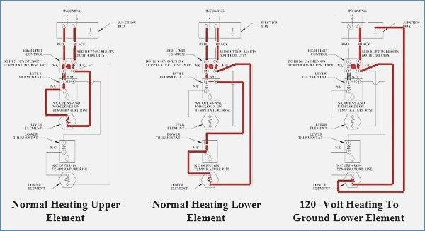 43 Electric Water Heater Thermostat Wiring Diagram Vr8m