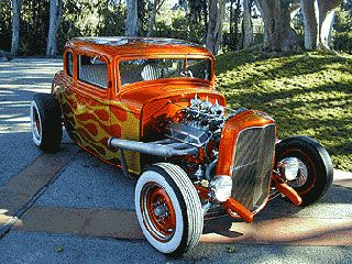 I Love this 32' Ford Five window