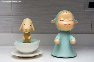 Vinyl Art Toy (by Power Pee) Yoshitomo Nara. IDK why, but i think it's really cute!