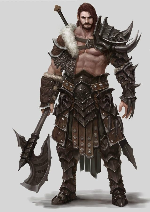 Barbarian (C'mon, I'm certain at least *one* Khagan could pull off this look? ;) )