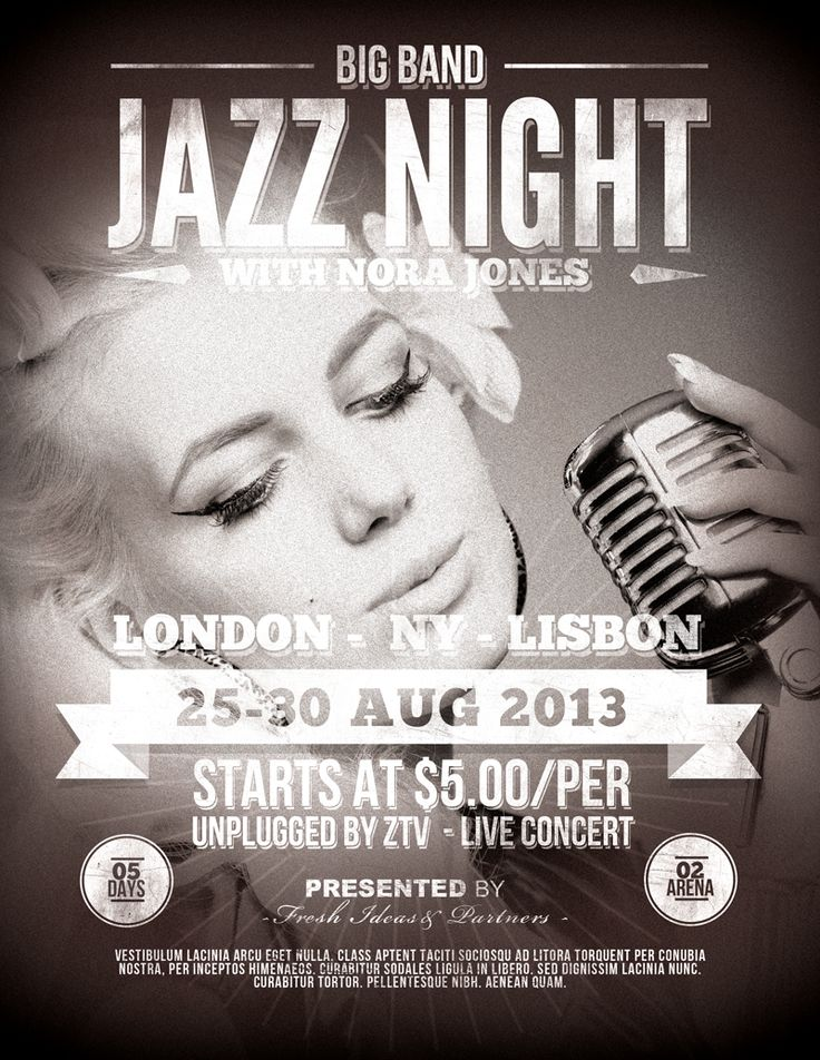 Best Flyer Images On   Posters Concert Posters And
