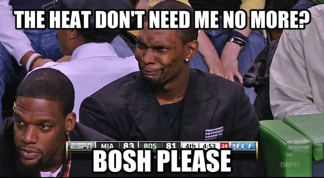 Bosh Please Miami Heat Meme  Watch The Video: http://join-telexfree.com/landingpage343.php?user=atlantis