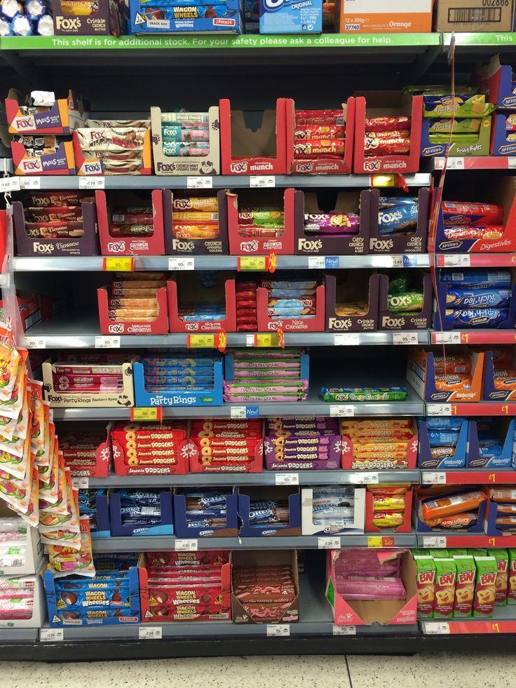 Asda biscuits supermarket shelfie asda