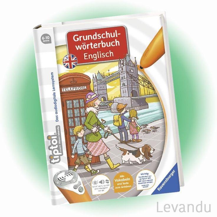 RAVENSBURGER tiptoi® Buch - Grundschulwörterbuch Englisch - NEU in Bücher, Kinder- & Jugendliteratur, Sachbücher | eBay!