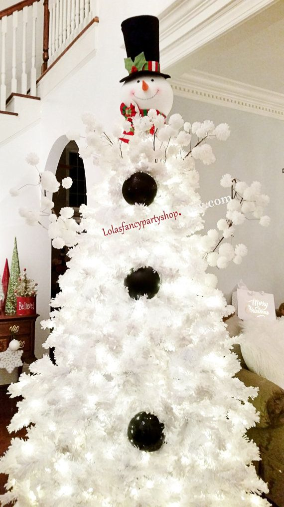 You can purchase the Entire TREE , LOVE IT!   Snowman Tree Topper Head LARGE…