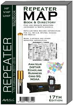 Mobile Amateur Repeater Database - by artsci publishing