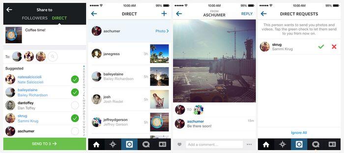 Comment ça marche Instagram Direct ?