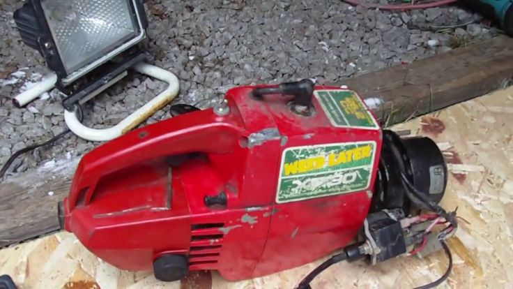 Cool DIY Video :  How to build a Homemade 12v Generator from an Old Weed Eater