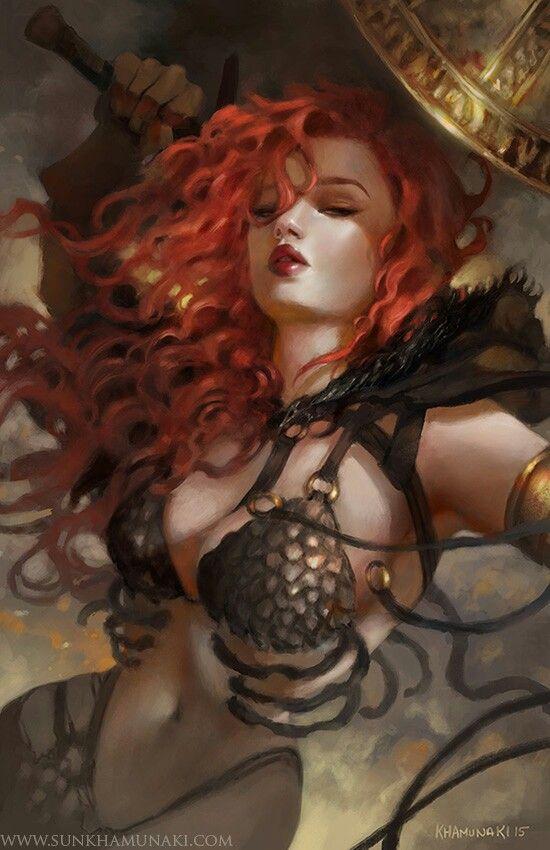 Red Sonja •Sun Khamunaki                                                                                                                                                                                 More