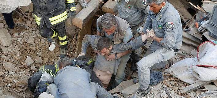 Εικόνες Αποκάλυψης στην Ιταλία: 250 νεκροί, ψάχνουν στα συντρίμμια για επιζώντες…