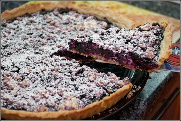 Творожно-черничный пирог. - Tofogo's Night Bakery