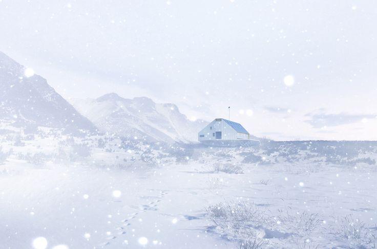 Zima na Kezmarske chate