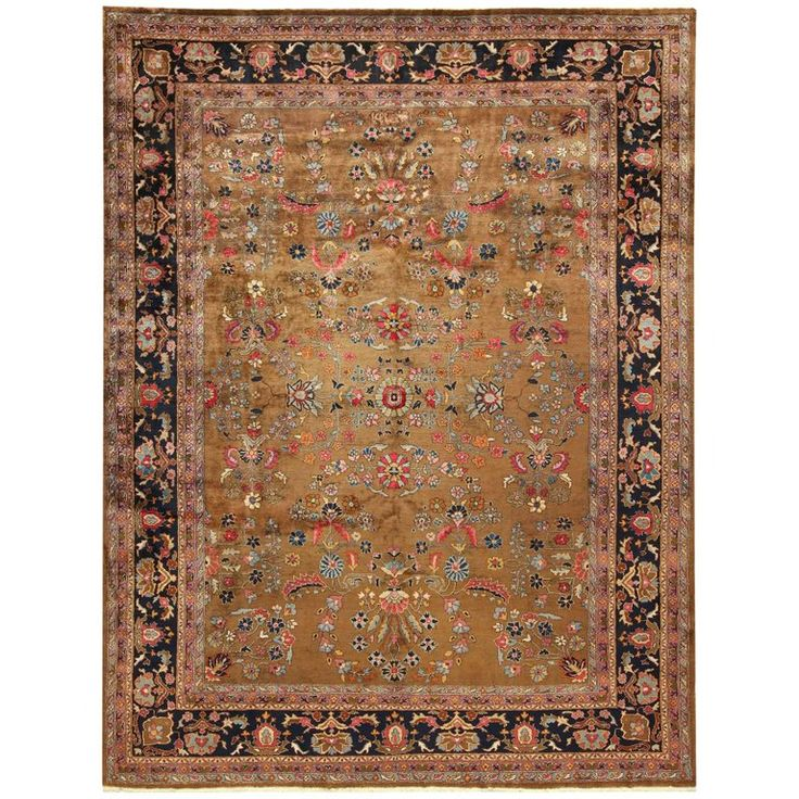 Room Size Antique Indian Rug 1