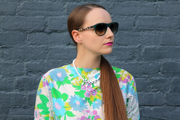 What I Wore: Flower Power