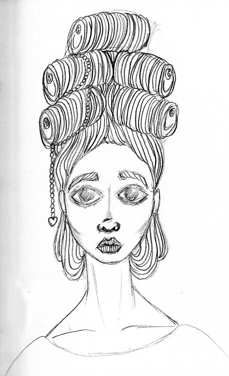 Maria Antonieta (sketch) - São Marias project - 2012, by Maria Oliveira.