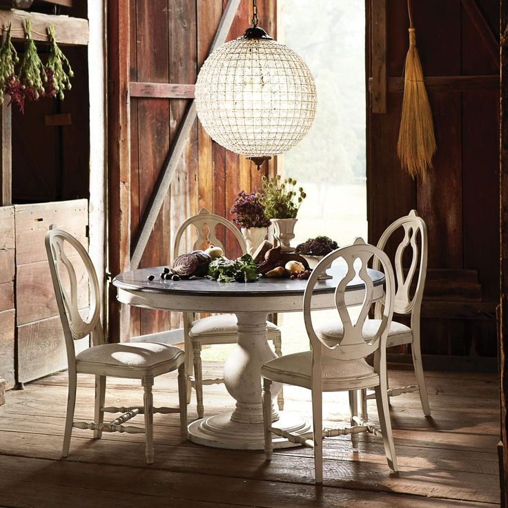 The Luca Round Dining Table In Any Finish Is Available In
