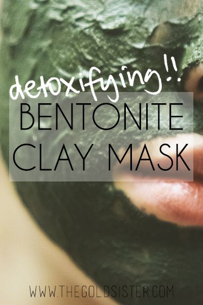 A DIY detoxifying face mask made with all natural ingredients. Click through for more info >>