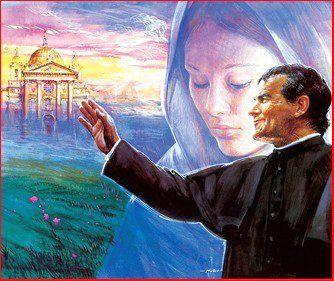 Novena to Mary,Help of Christians (Image: Don Bosco With Mary, Mother of Jesus) - Salesians of Don Bosco, Ireland