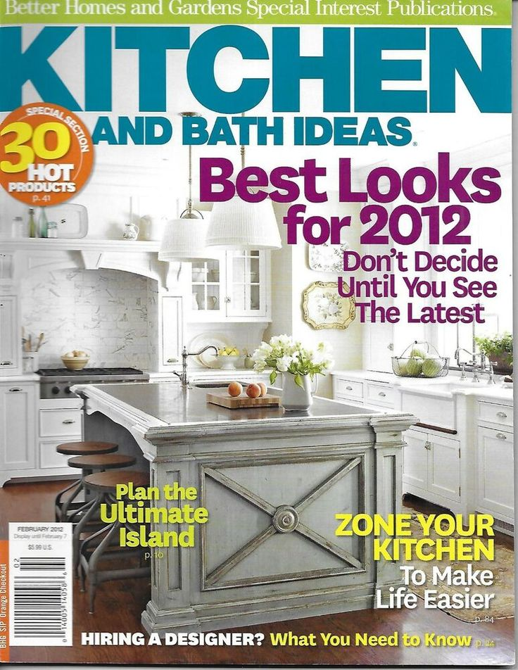 Kitchen And Bath Ideas Magazine Best Looks The Ultimate ...