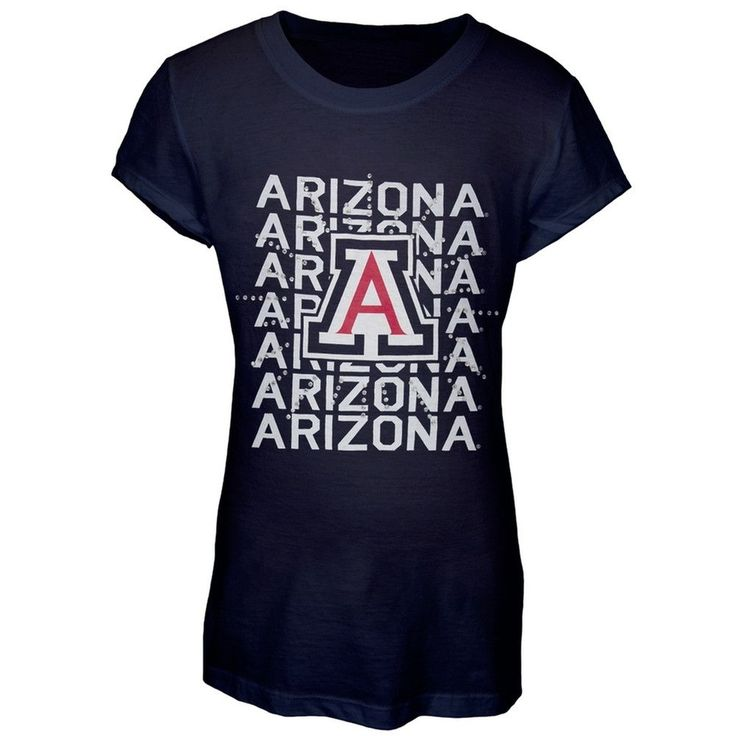 Arizona Wildcats - Rhinestone Ray Girls Youth T-Shirt