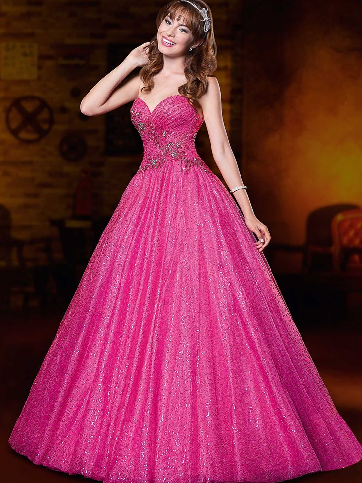 12 best Vestidos de quince años modernos color rosa images on ...