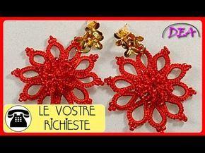 L.V.R.T.8°aP1°- Christmas Star. Perline in rilievo al centro del fiore. - YouTube