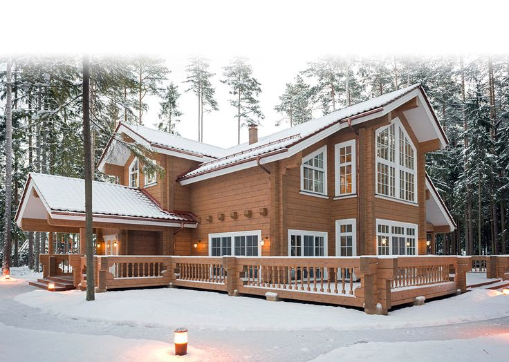 Loghouse.fi: Rovaniemi Log House from Finland- Finnish log houses & log homes