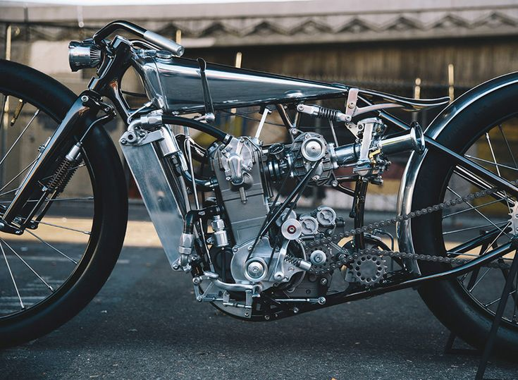 hazan motorworks' idea for the KTM motorcycle was to create something like the first motorized bicycle - light, cheap and fast.