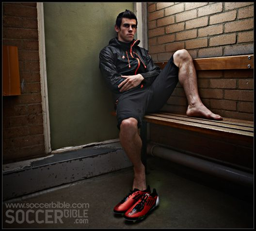 Moura Can Be The New Signing Tottenham Fans Wanted: Gareth Bale - Adidas F50 Windbreaker