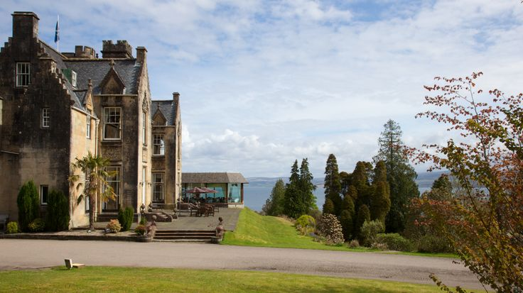 Breathtaking baronial architecture overlooking Loch Fyne.