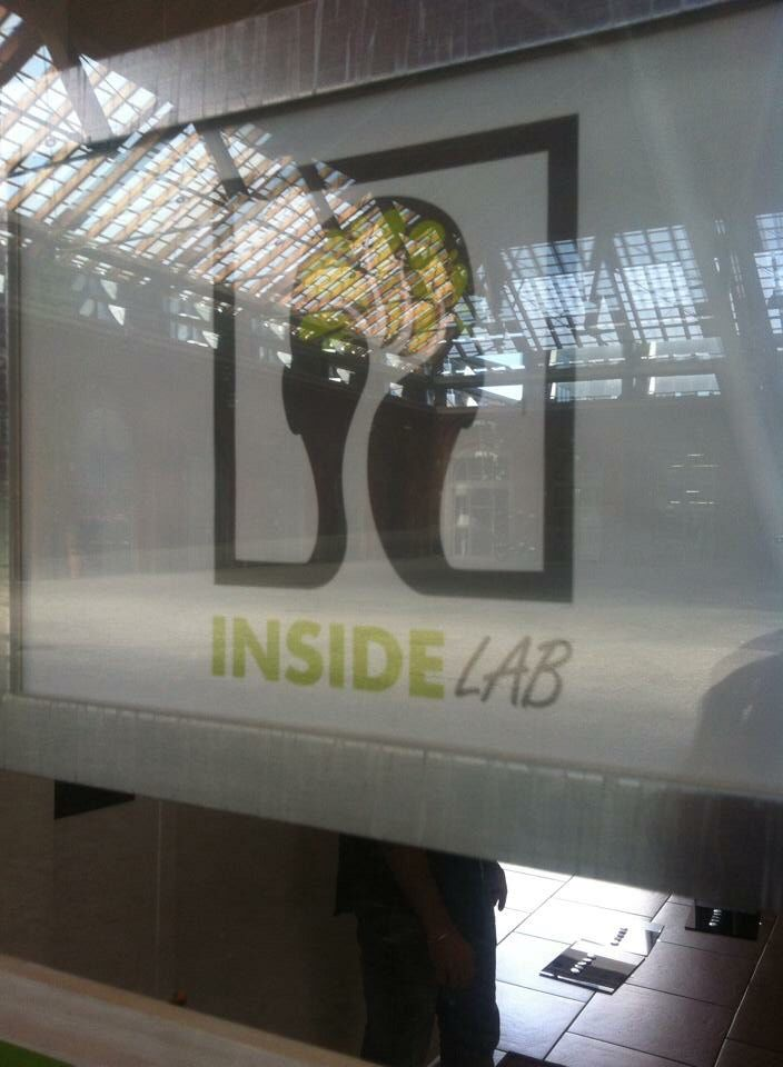 "Quarta tappa,Torino, ""InsideLab"" dal 25 settembre all' 08 ottobre 2014. Allestimento"