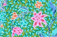 Традиционный саронг батика Стоковая Фотография RF