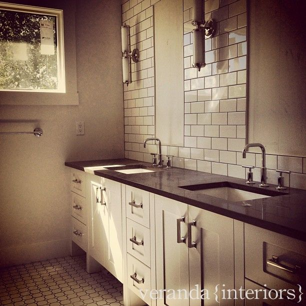 subway tile with mirror insertSubway Tile