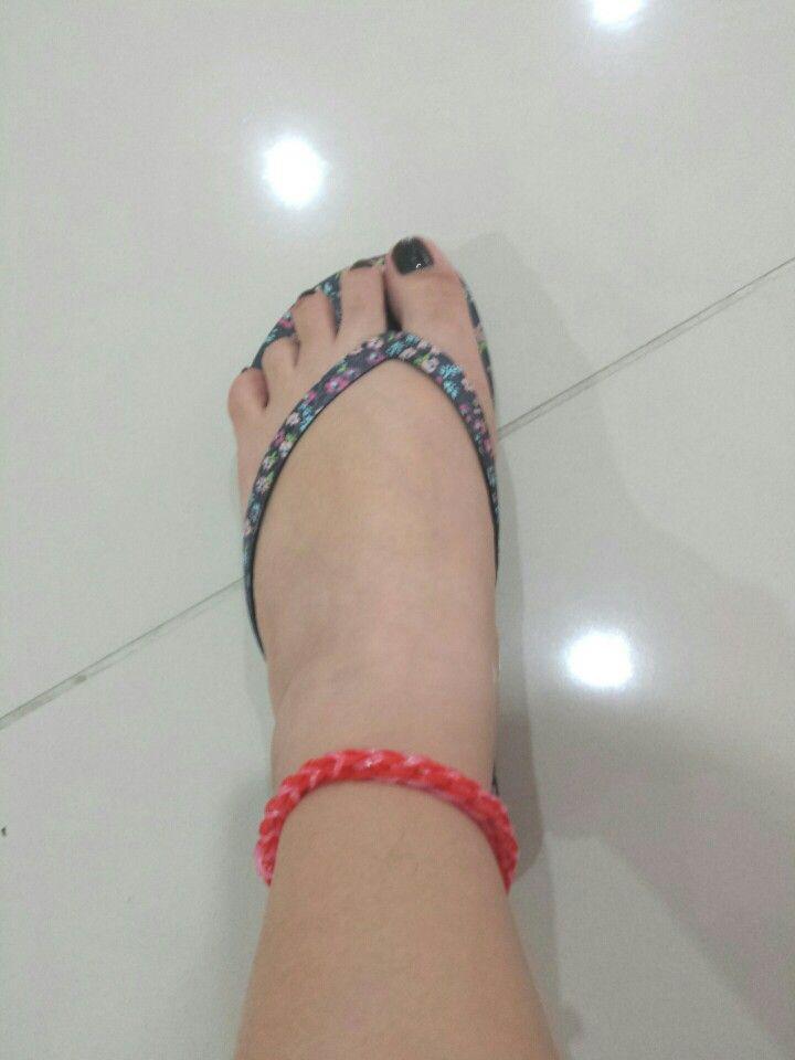 Loom anklet