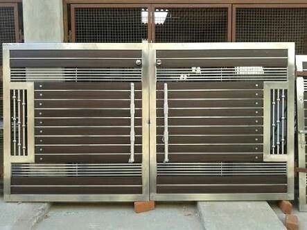 Wooden and Steel Gates - Steel Gate Manufacturer from Jalan…
