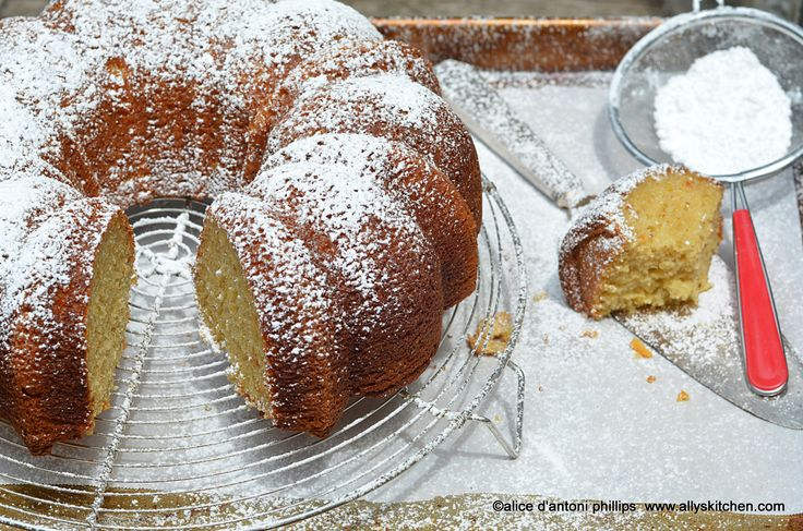 ~fig ginger orange marmalade poundcake~