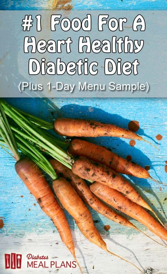 I bet you're curious to know what the number one food for a heart healthy diabetic diet is? Go here to find out.