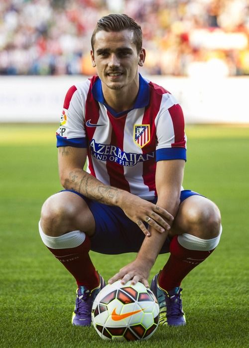 Antoine Griezmann, another awesome player from Atletico Madrid! Also plays for France!