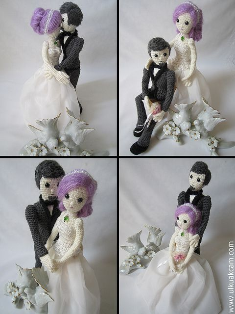 Wedding Crochet Dolls